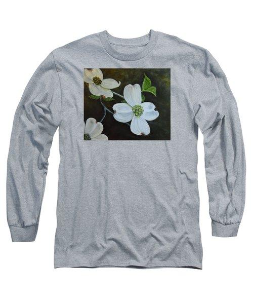 Dogwood Dream Long Sleeve T-Shirt