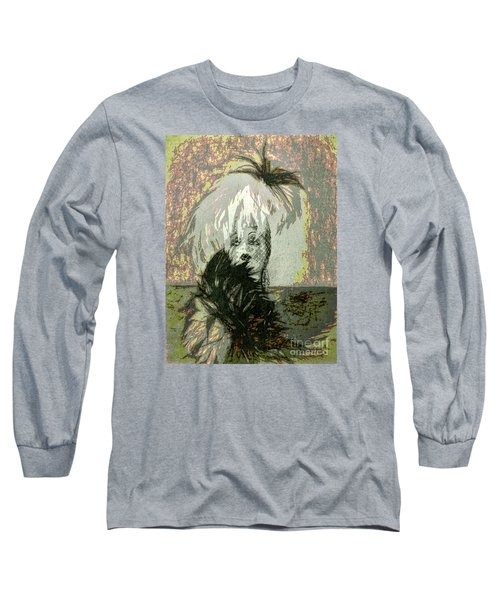 Long Sleeve T-Shirt featuring the photograph Doll Face  ... by Chuck Caramella
