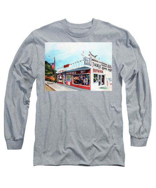Dolphin Dock I Long Sleeve T-Shirt