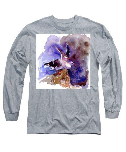 Dolphin Gulls Long Sleeve T-Shirt
