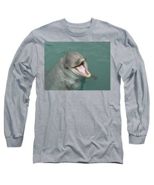 Dolphin Long Sleeve T-Shirt by Sean M