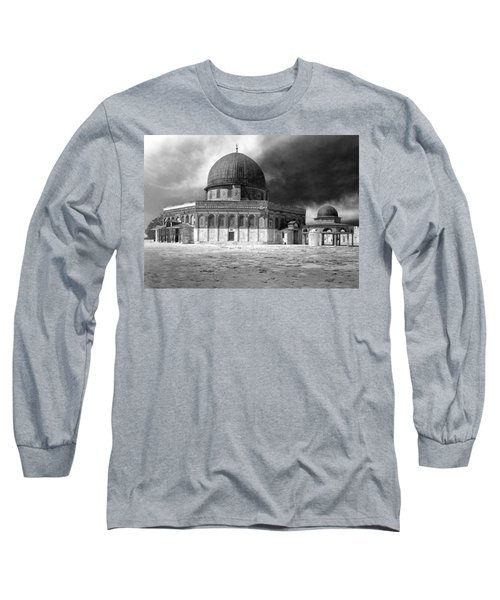 Dome Of The Rock - Jerusalem Long Sleeve T-Shirt by Munir Alawi