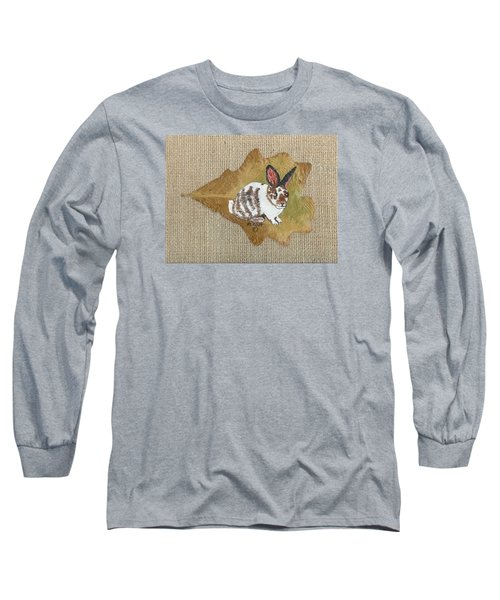 domestic Rabbit Long Sleeve T-Shirt by Ralph Root