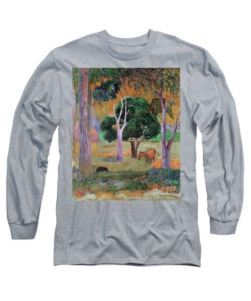 Dominican Landscape Long Sleeve T-Shirt