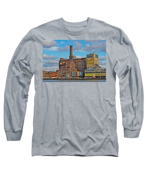 Domino Sugar Water View Long Sleeve T-Shirt