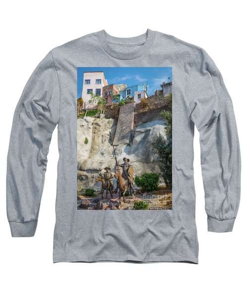 Don Quixote Y Sancho Panza Long Sleeve T-Shirt