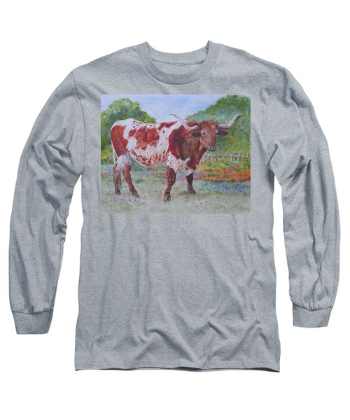 Don't Eat The Bluebonnets Long Sleeve T-Shirt