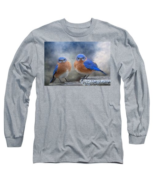 Don't Ruffle My Feathers Long Sleeve T-Shirt by Bonnie Barry