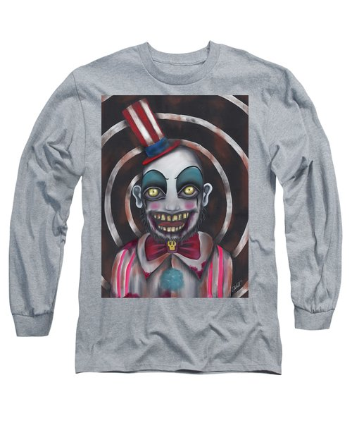 Don't You Like Clowns?  Long Sleeve T-Shirt by Abril Andrade Griffith