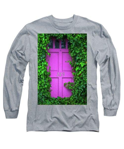 Door 229 Long Sleeve T-Shirt by Darren White