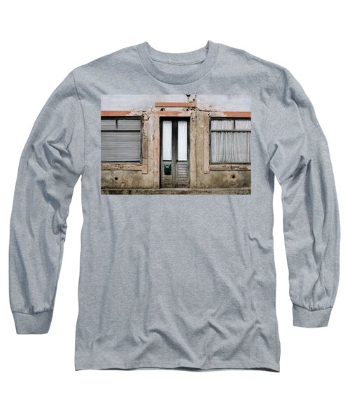 Long Sleeve T-Shirt featuring the photograph Door No 128 by Marco Oliveira