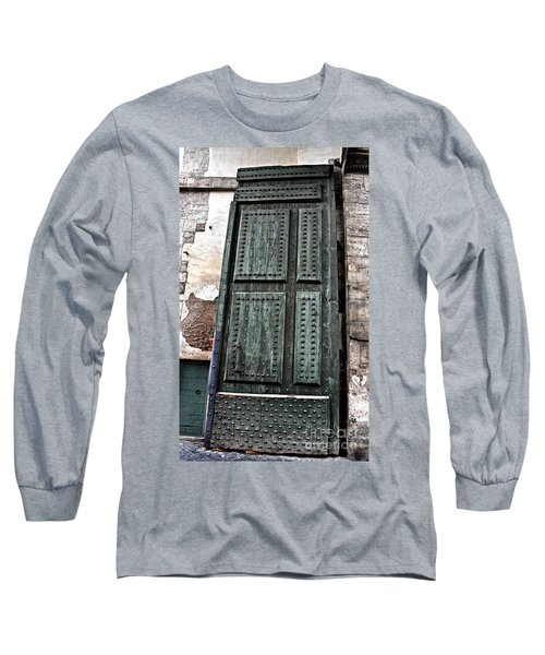 Door To The Roman Gateway Long Sleeve T-Shirt