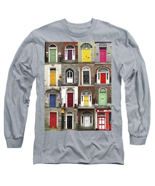Doors Of Limerick Long Sleeve T-Shirt