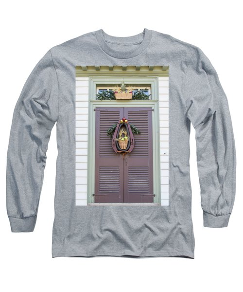 Doors Of Williamsburg 91 Long Sleeve T-Shirt