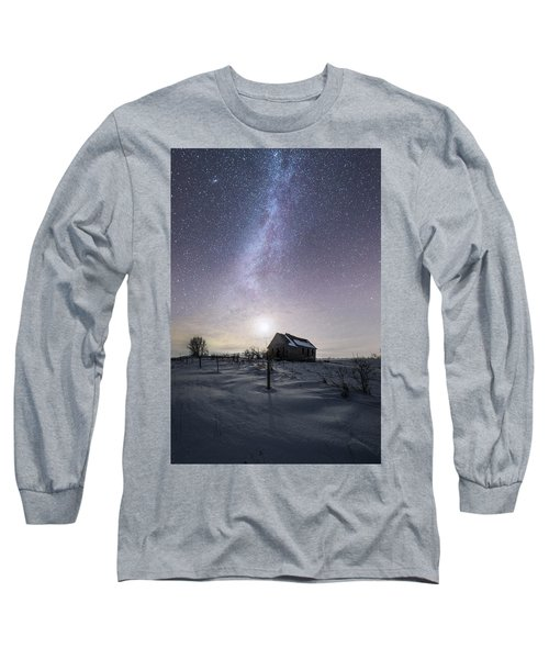 Long Sleeve T-Shirt featuring the photograph Dormant by Aaron J Groen