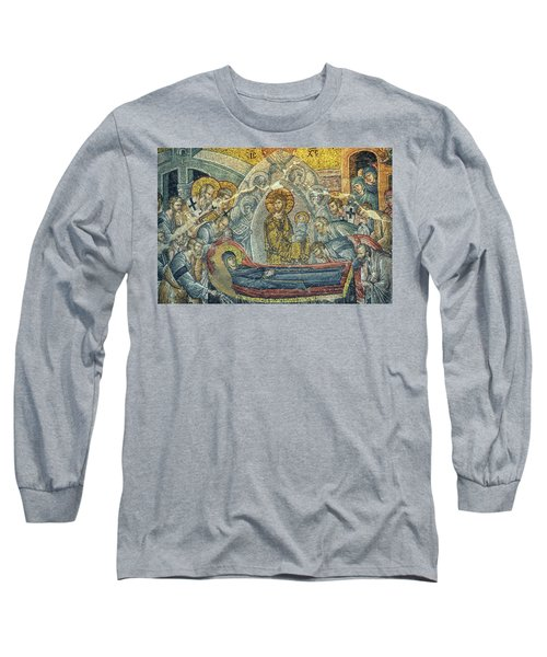 Dormition Of The Virgin Long Sleeve T-Shirt