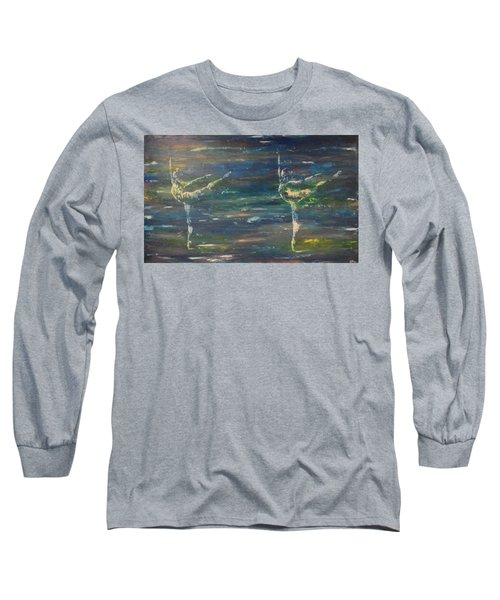 Double Arabesque Long Sleeve T-Shirt