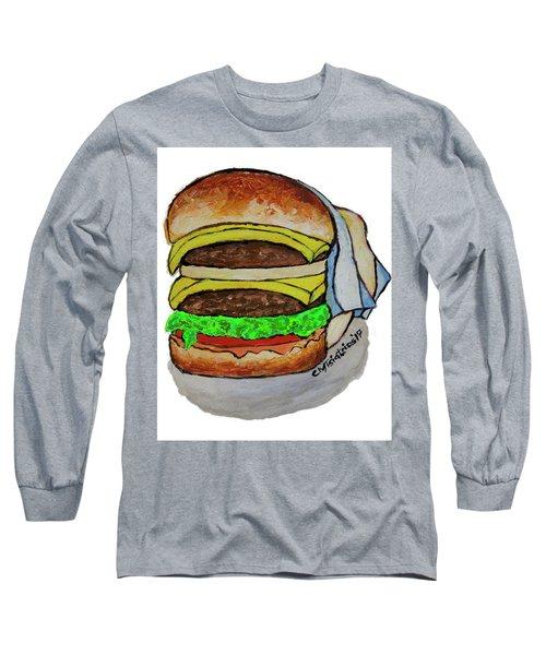 Double Cheeseburger Long Sleeve T-Shirt