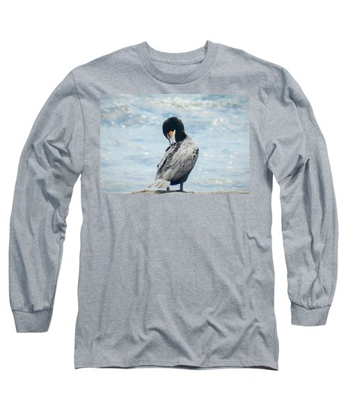 Double-crested Cormorant   Long Sleeve T-Shirt