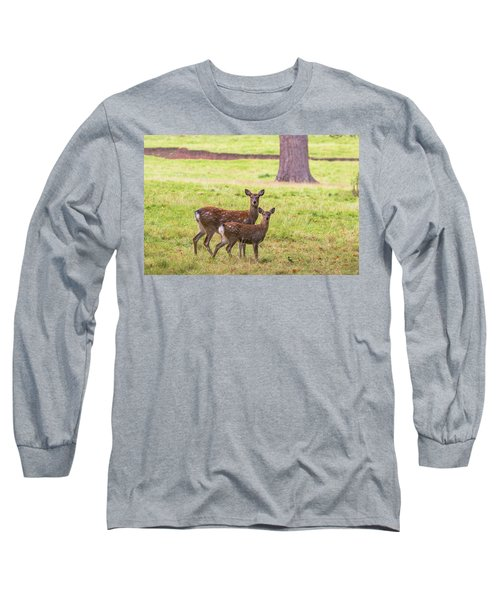 Long Sleeve T-Shirt featuring the photograph Double Take by Scott Carruthers