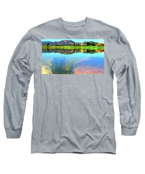 Doughnut Lake Long Sleeve T-Shirt