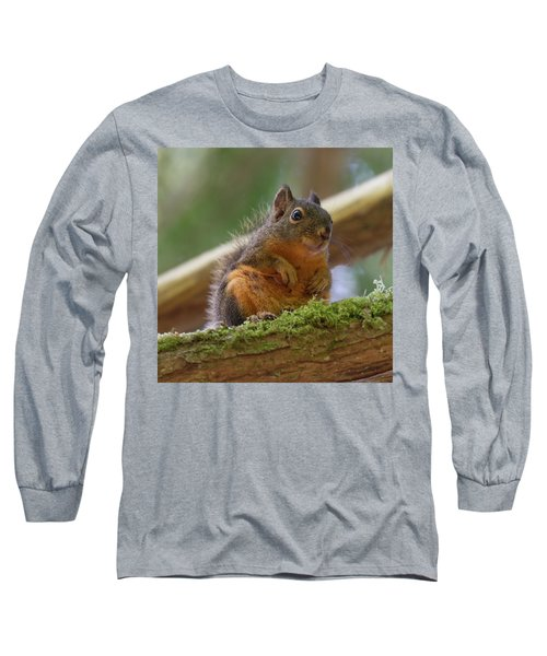 Douglas Squirrel Long Sleeve T-Shirt