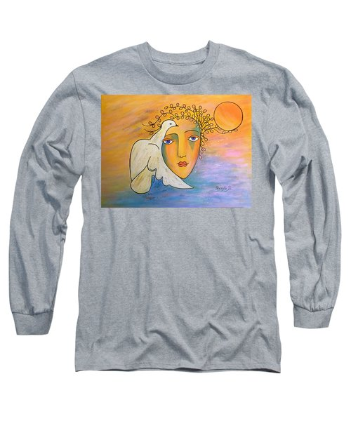 Dove-whisperer Long Sleeve T-Shirt