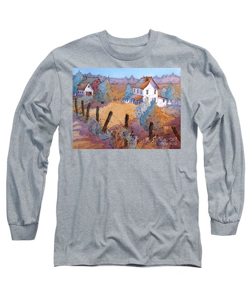 Down A Country Road Long Sleeve T-Shirt