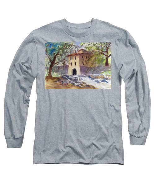 Down By The Old Mill Stream Long Sleeve T-Shirt