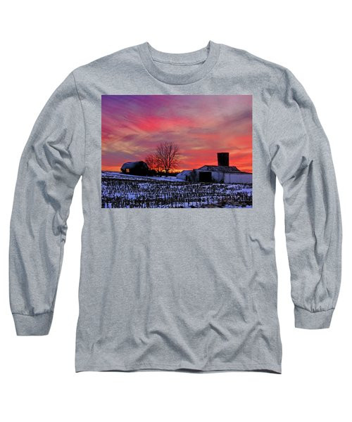 Down The Street From Daranya's House Long Sleeve T-Shirt