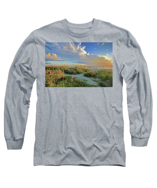 Down To The Beach 2 - Florida Beaches Long Sleeve T-Shirt