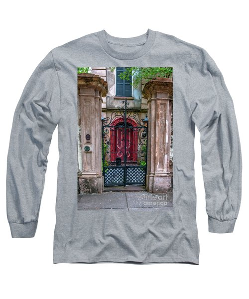 Downtown Charleston Architecture Long Sleeve T-Shirt