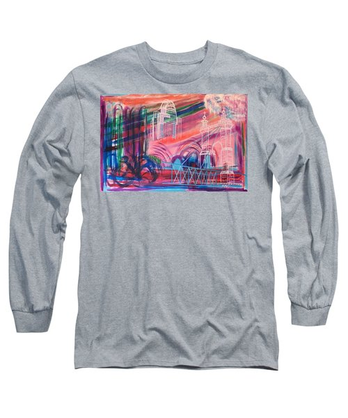 Downtown Cincinnati Long Sleeve T-Shirt