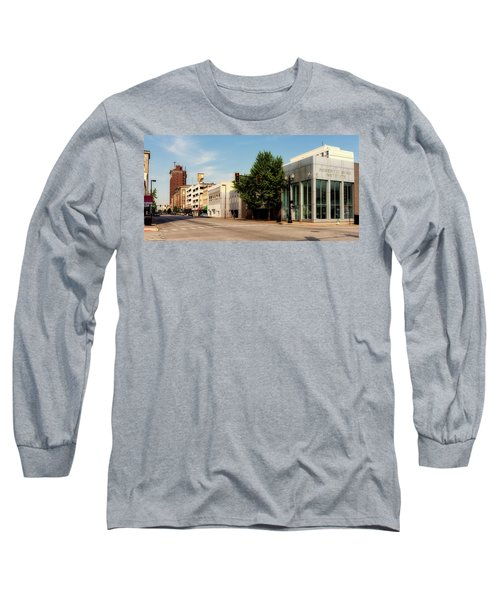 Downtown Huntington West Virginia Long Sleeve T-Shirt by L O C