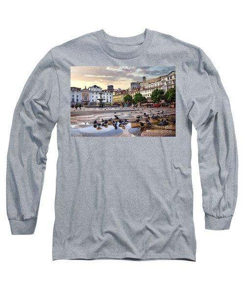 Downtown Lisbon Long Sleeve T-Shirt