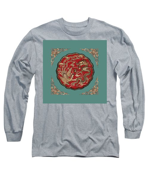 Dragon And Phoenix Long Sleeve T-Shirt