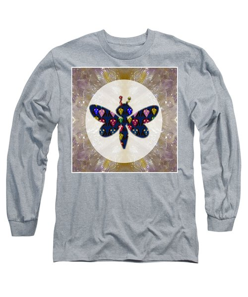 Dragon Fly Cute Painted Face Cartons All Over Donwload Option Link Below Personl N Commercial Uses Long Sleeve T-Shirt