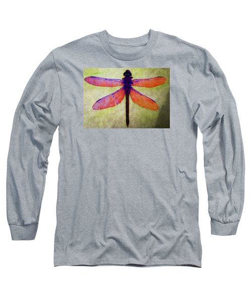 Long Sleeve T-Shirt featuring the photograph Dragonfly 7 by Timothy Bulone
