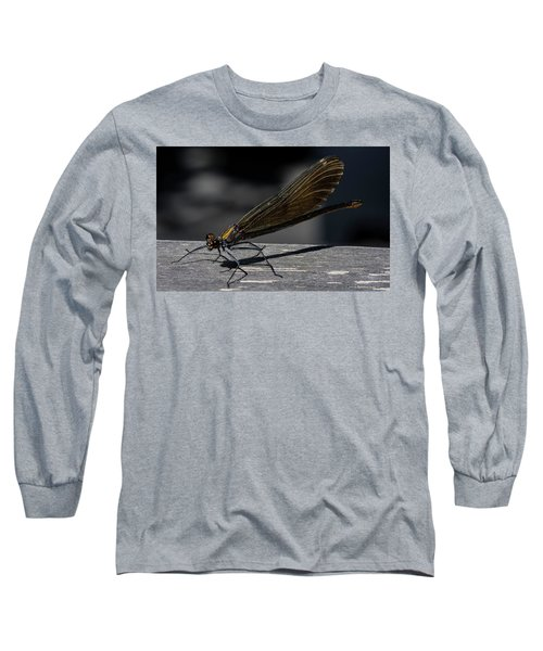 Dragonfly Long Sleeve T-Shirt by Rainer Kersten