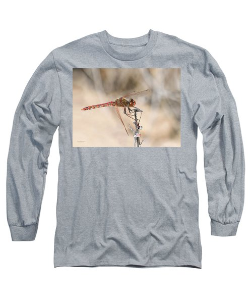 Dragonfly Resting Long Sleeve T-Shirt