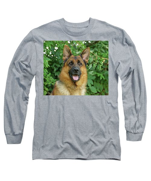 Long Sleeve T-Shirt featuring the photograph Drake by Sandy Keeton
