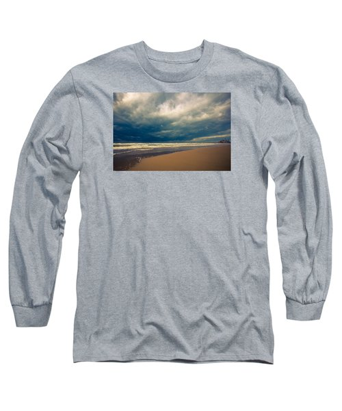 Dramatic Clouds Of Winter Long Sleeve T-Shirt