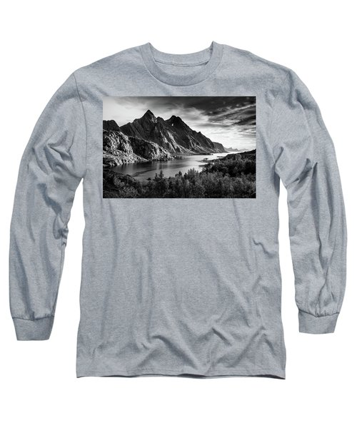 Dramatic Lofoten Long Sleeve T-Shirt