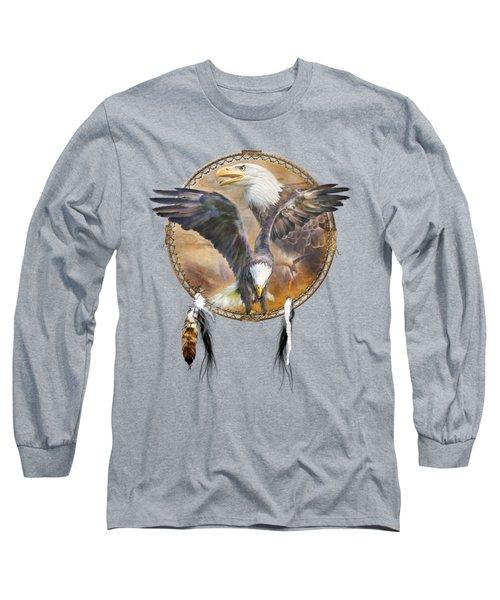 Dream Catcher - Spirit Eagle 3 Long Sleeve T-Shirt