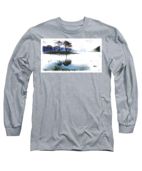 Dream Island Long Sleeve T-Shirt by Mario Carini