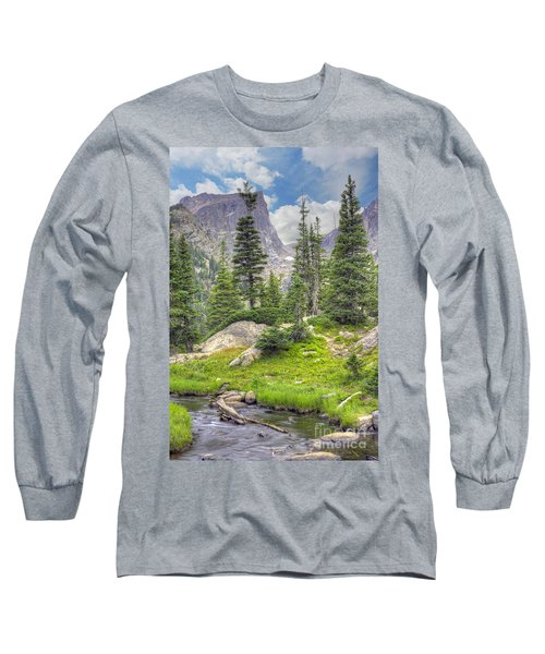 Dream Lake Long Sleeve T-Shirt by Juli Scalzi
