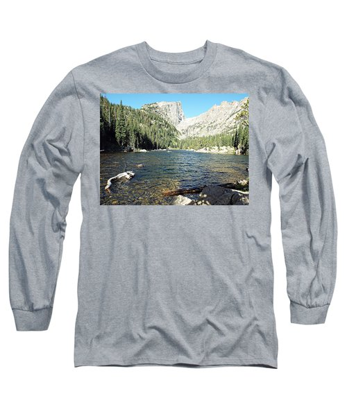 Long Sleeve T-Shirt featuring the photograph Dream Lake - Rocky Mountain National Park by Joseph Hendrix