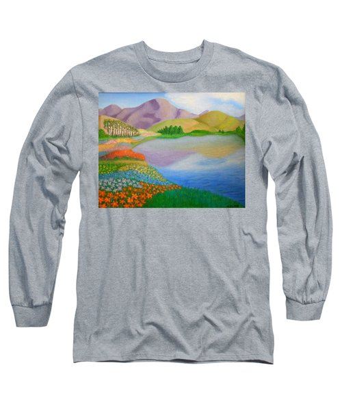 Dream Land Long Sleeve T-Shirt by Sheri Keith