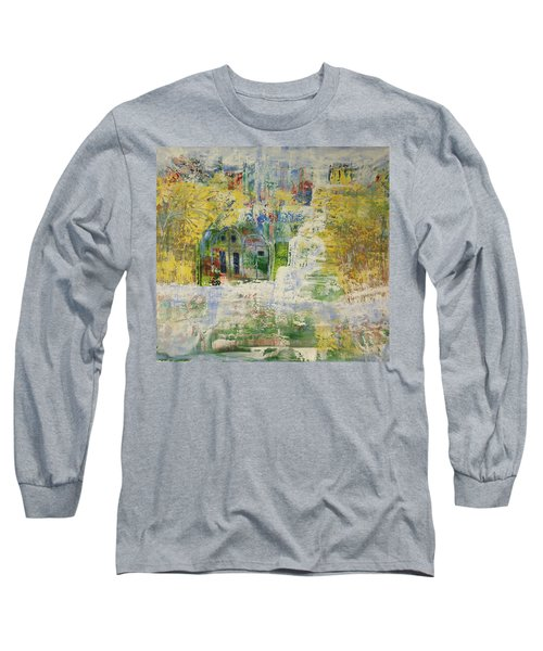 Long Sleeve T-Shirt featuring the painting Dream Of Dreams. by Sima Amid Wewetzer
