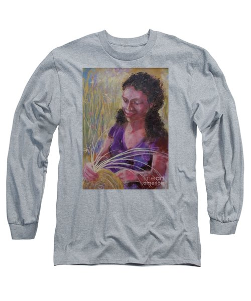 Dream Weaver Long Sleeve T-Shirt by Gertrude Palmer